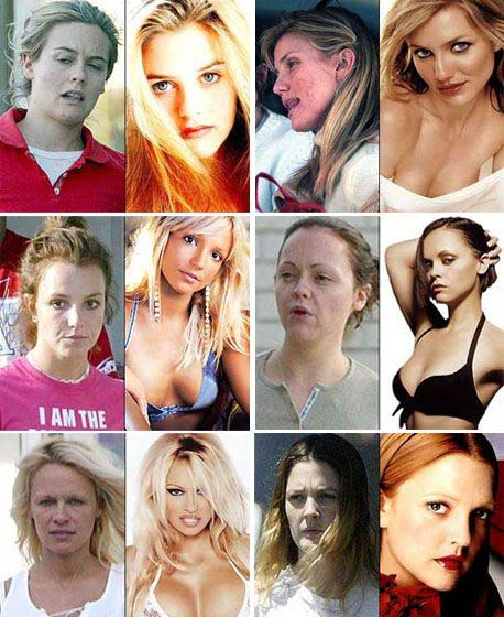 celebrities with out makeup. Makeup Qamp;A