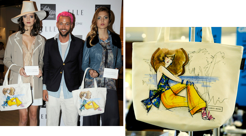 celine shoes and bags - Chris Benz Designs Summer Tote Bag For Lancome Available at Saks